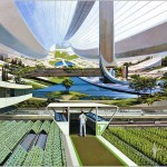 Syd Mead Space Colonies